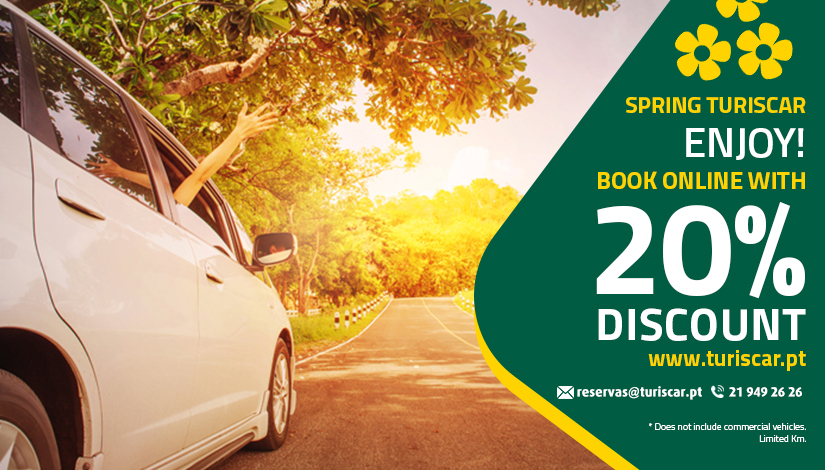 20% discount on your online booking